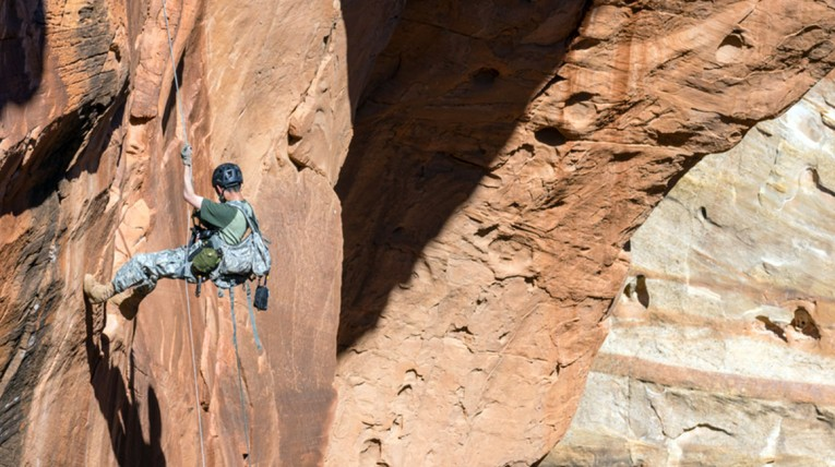 CLIMBING & RAPPELLING